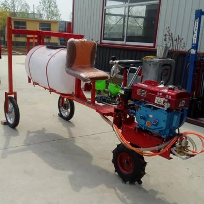 陕西省大容量汽油喷雾器 启航牌手推式打药机 果园自走式打药机价格