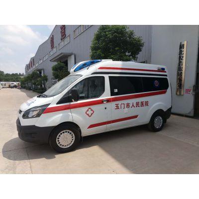 供应全顺长轴高顶救护车,高品质、高配置
