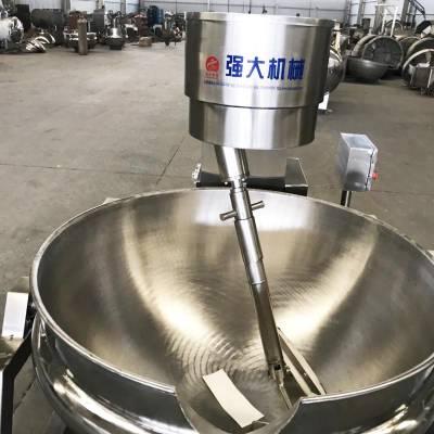 600强大熬汤夹层锅干果烘炒不锈钢夹层炒锅