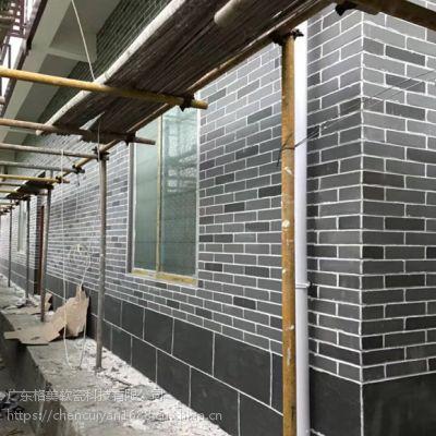 软瓷厂家广东外墙软瓷砖施工