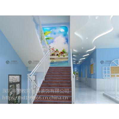 深圳以体育为特色的幼儿园如何装修 幼儿园高端设计公司