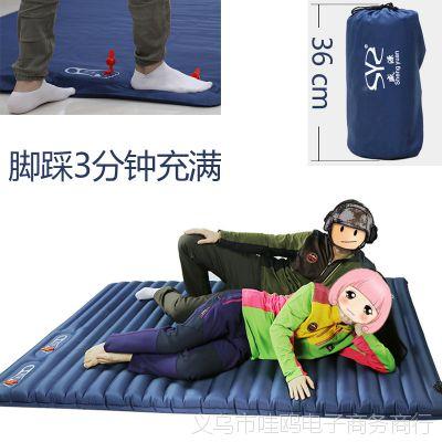 户外充气床垫 野营露营旅游空气垫午休办公司便携盛源自动空气床