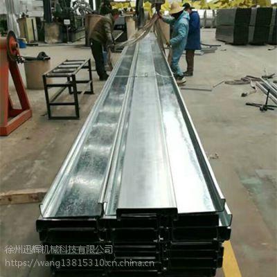 厂家供应天津180型镀锌C型钢檀条强度高