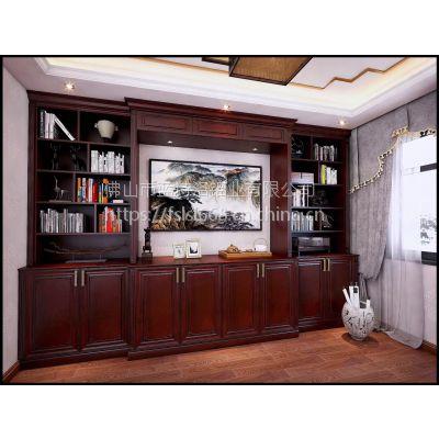 蓝诗洛别墅书柜定制 私人定制全铝书柜 展架柜
