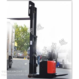 中运踏板式全电动堆高车 踏板式全电动堆高车价格 踏板式全电动堆高车厂家