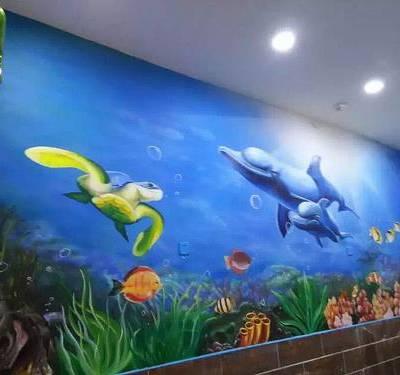 南昌壁画,南昌彩绘手绘墙壁画专业公司!