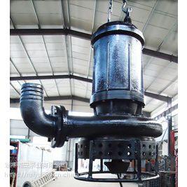中国泵城直供CSQ潜水式排沙泵 潜水杂质泵 潜水搅拌渣浆泵