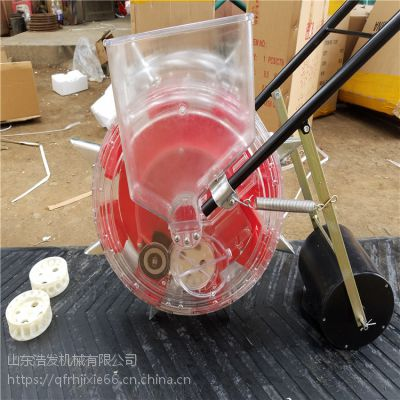 小粒四轮车带精量播种机 拖拉机牵引多行玉米条播机