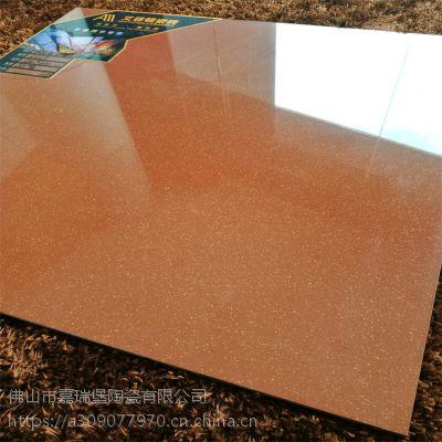 佛山瓷砖厂家直销600*600红金点抛光砖工程地面砖