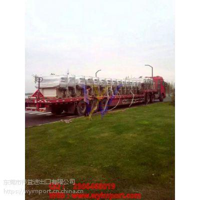二手机电设备进口深圳港海关对有哪些规定