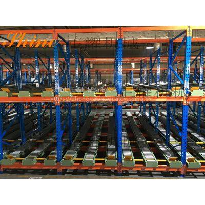 重力式货架哪家好 广州货架厂家 提供仓储管理