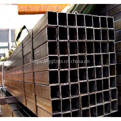 供应大无缝天津100*100*6.0方管Q345B焊接方管