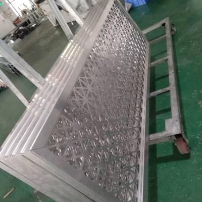 铝板幕墙 商场铝板吊顶隔断镂空雕刻 铝板生产与安装