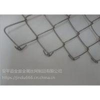 不锈钢勾花网 :勾花围栏网: 绿色铁丝勾花网: 景区用围栏铁丝网: