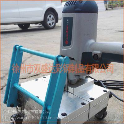 徐州迅辉厂家供应400铝镁锰屋面电动锁边机