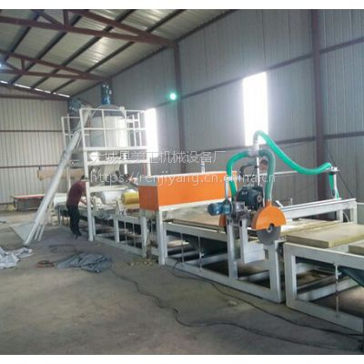 美工-16机制岩棉复合板设备,砂浆岩棉复合机