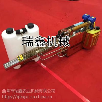 农用高效率打药机 瑞鑫批发小型脉冲式热力烟雾机 电动弥雾机