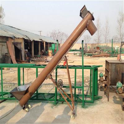 桐乡各种型号螺旋提升机质保 兴亚鸭棚上料机生产