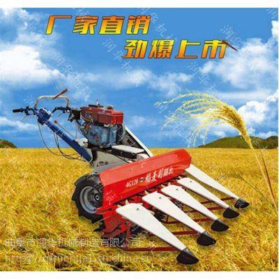 汽油手推式割晒机 玉米高粱收割机 拖拉机带牧草收割机