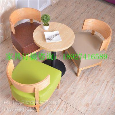 咖啡厅椅子 实木原木咖啡厅椅子 休闲简约咖啡厅椅子 典艺坊供