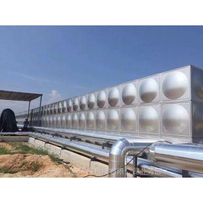 吉盛供二次供水设备,无负压变频供水设备、智能箱泵一体不锈钢水箱