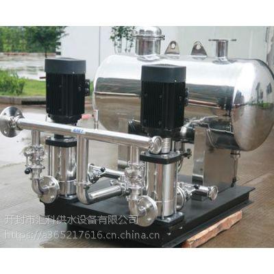 汇科供水设备 无负压 高楼供水 净水 二次加压 稳定