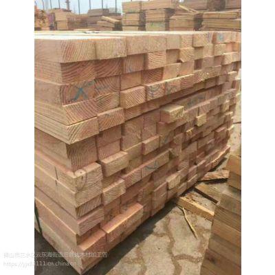 深圳宝安施工木方 工地模板 原木加工 建筑方条厂家