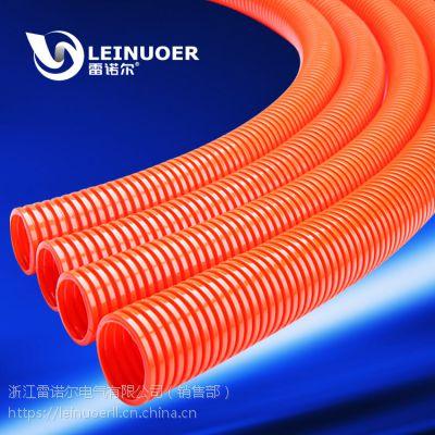 供应地暖专用波纹管,橙色波纹穿线管,电缆保护软管