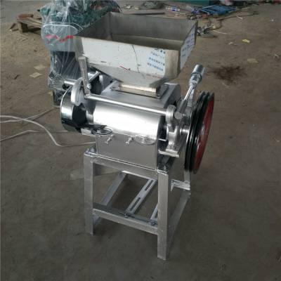 小型颗粒饲料破碎机,信达热卖高质量对辊杂粮破碎机