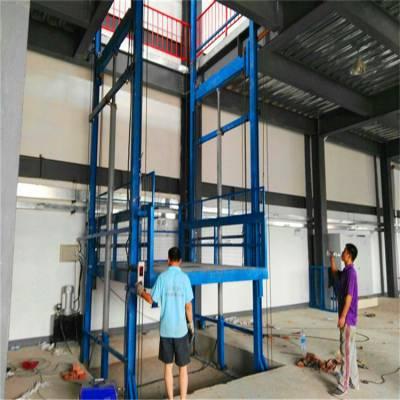 淮安哪有做电动液压载货升降机的厂家/坦诺升降货梯厂家