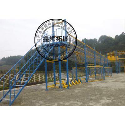 厂家直销 中低空平衡系统 拓展器材 35*5M 鑫狮拓展器械 尺寸可定制 项目可选择