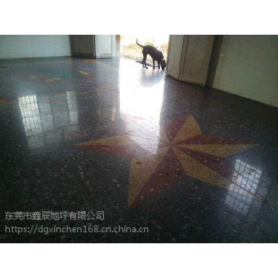 广州越秀水磨石晶面处理-海珠-旧地坪翻新-水磨石固化地坪施工