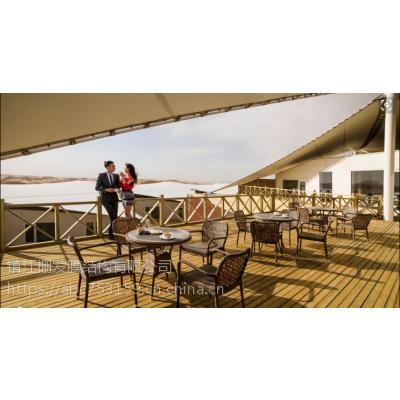 室外通道膜结构充电桩张拉膜PVDF户外餐厅遮阳棚
