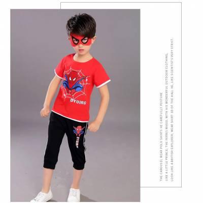 阿里巴巴批发童装套装 儿童上衣配裤子套装批发 童套装厂家直销