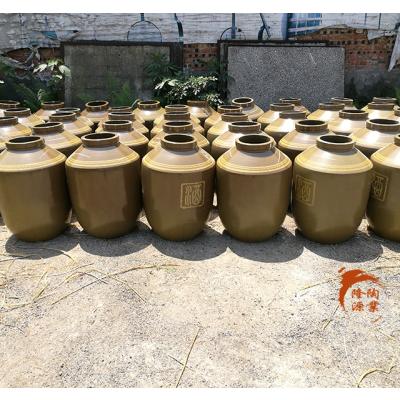 四川厂家长期生产土陶酒缸100斤-300斤