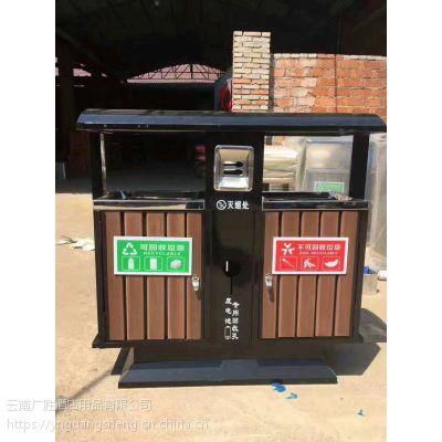 云南不锈钢垃圾桶厂家直销 采购垃圾桶找广胜