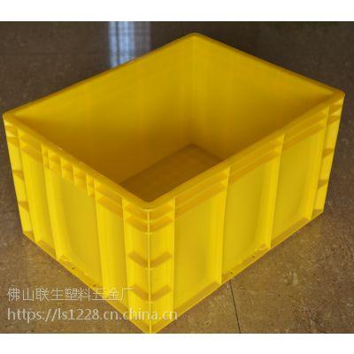 乔丰塑胶厂家直销五金配件箱汽车零件箱塑胶周转箱胶筐批发400*300*230