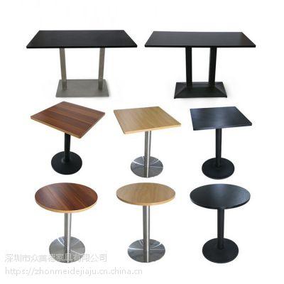 众美德生产快餐厅餐桌,员工餐厅餐桌椅,简约现代餐桌价格实在