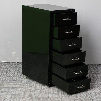 洛阳万瑞供应 六层可移动抽屉柜 钢制 收纳柜 文件柜