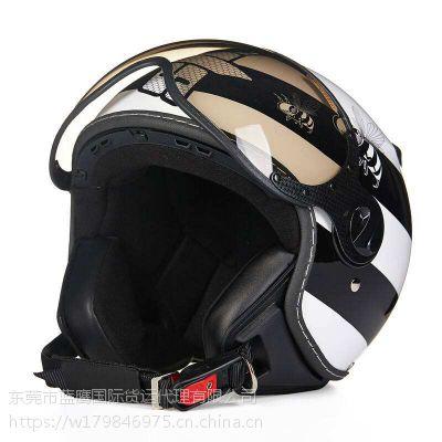 从大陆佛山寄头盔快递到台湾的流程及费用-蓝鹰物流