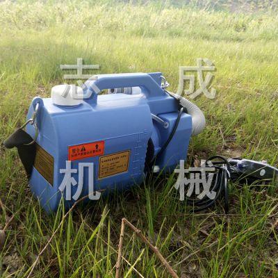 低噪音插电式消毒喷药机 志成生产小型防疫设备 5升的养殖场消毒机