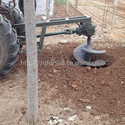 长沙市便携手提式汽油打洞机 启航果园树木种植埋桩钻坑机 四冲程大功率植树挖坑机厂家直销
