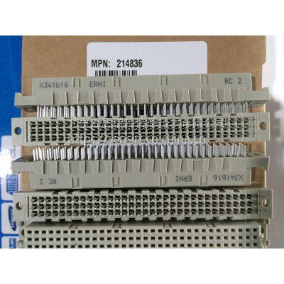 erni恩尼垂直式c型96针母连接器214836