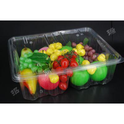 促销大环保PET蔬菜水果盒可根据实际需要定做