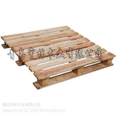 胶州出口托盘标准尺寸 厂家定做木卡板松木样式多样