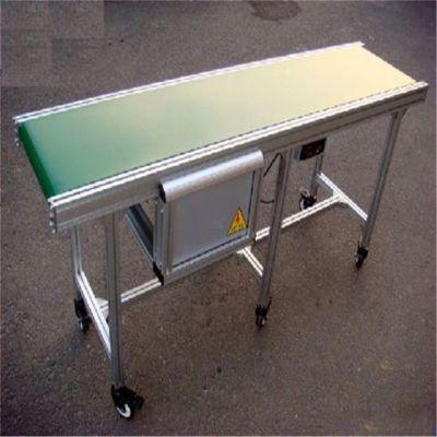 粮食皮带输送机铝型材皮带机热销 食品包装输送机