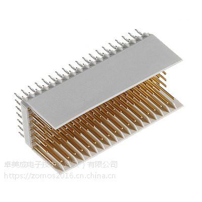 德国ept现货 2.0mm间距 CPCI连接器244-11300-15兼容ERNI 354142