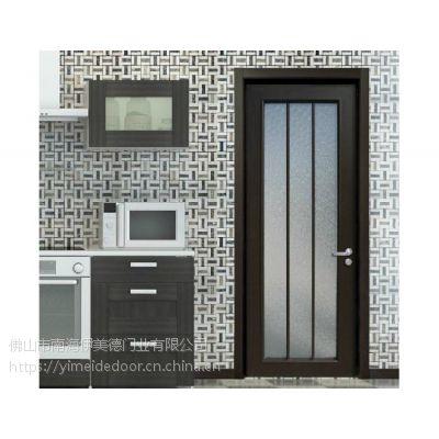 铝合金平开门 佛山铝门加盟 高端门窗厂家招商 伊美德门窗 欧式隔音