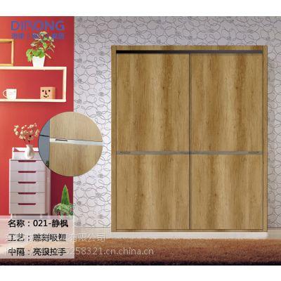 新中式衣柜推拉门端庄素雅,使人宁神静气!