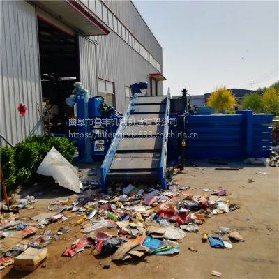 贵阳铁麒麟卧式80吨纸箱打包机厂家